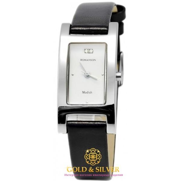 Женские Часы ROMANSON DL9198SMWH WHITE , Gold & Silver Gold & Silver, Украина