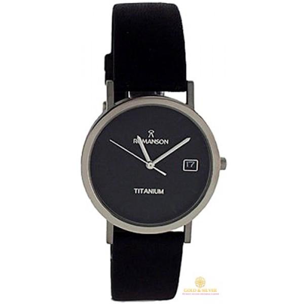 Мужские Часы ROMANSON DL9782SMWH BLACK , Gold & Silver Gold & Silver, Украина