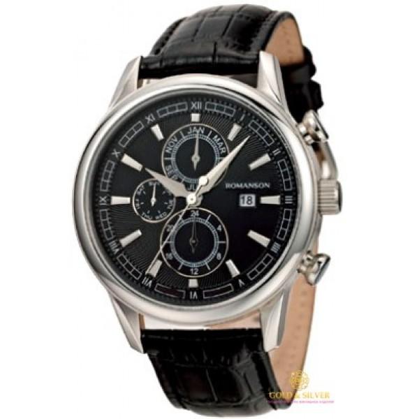 Мужские Часы Romanson TL1245BMWH BK , Gold & Silver Gold & Silver, Украина