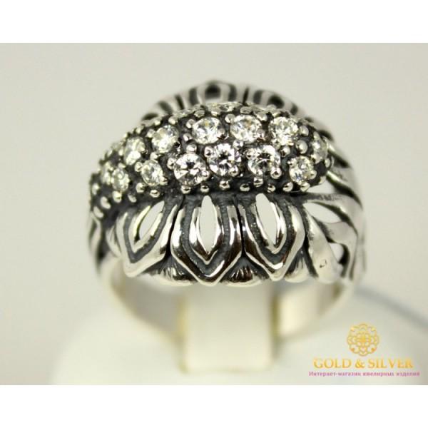Серебряное кольцо 925 проба. Женское Кольцо Инесса. 7,5 грамма. 1216 , Gold & Silver Gold & Silver, Украина