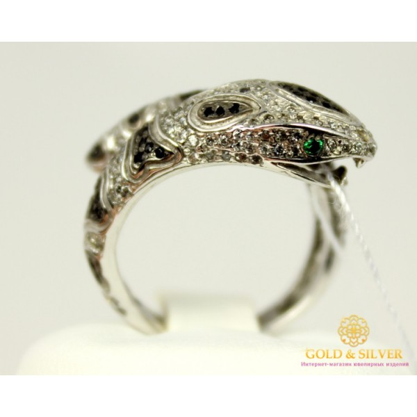 Серебряное кольцо 925 проба. Женское Кольцо Удав 15479р , Gold & Silver Gold & Silver, Украина