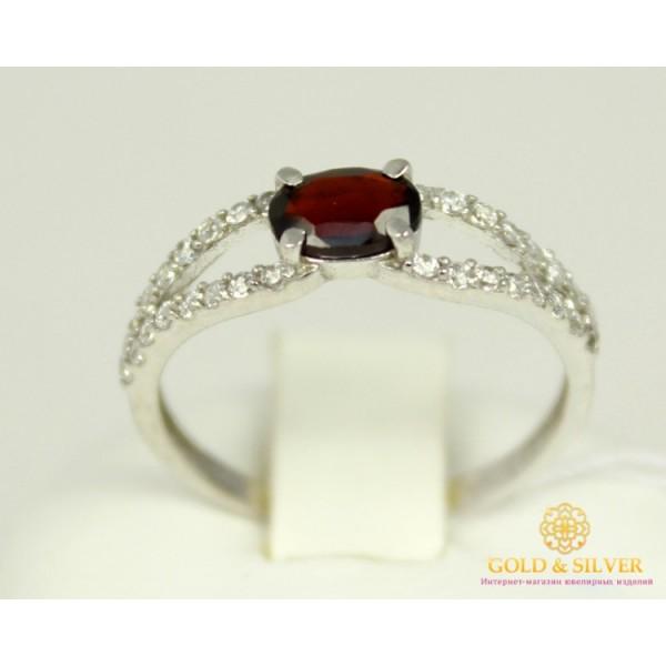 Серебряное кольцо 925 проба. Женское серебряное Кольцо Барбарис с вставкой Гранат 16259р , Gold &amp Silver Gold & Silver, Украина