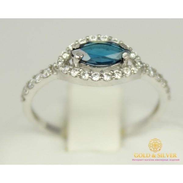 Серебряное кольцо 925 проба. Женское серебряное Кольцо Карамель с вставкой Лондон Топаз 15979р , Gold & Silver Gold & Silver, Украина
