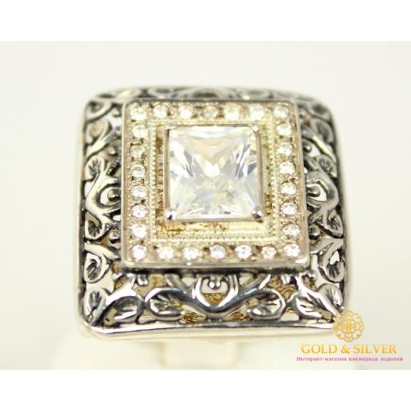 Серебряное кольцо 925 проба. Женское Кольцо 10,7 грамма. 021810 , Gold & Silver Gold & Silver, Украина