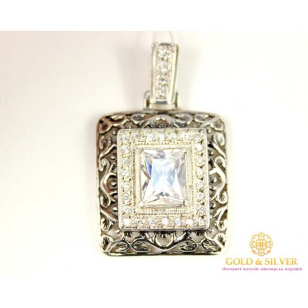 Серебряный Подвес 029206 , Gold &amp Silver Gold & Silver, Украина