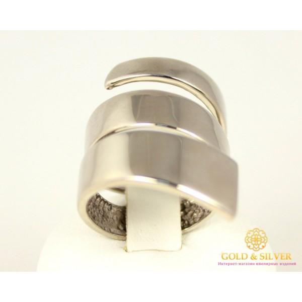 Серебряное кольцо 925 проба. Женское Кольцо Спираль без камней. 310133с , Gold & Silver Gold & Silver, Украина