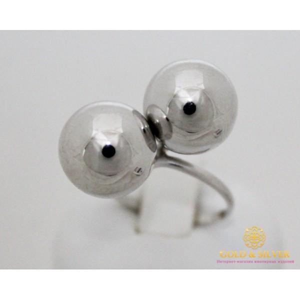 Серебряное кольцо 925 проба. Женское Кольцо Поцелуй (Шары) без камней. 391074с , Gold &amp Silver Gold & Silver, Украина