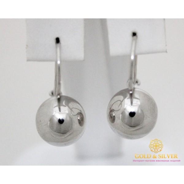 Серебряные Серьги 925 проба. Серьги шары серебряные женские 470103с , Gold &amp Silver Gold & Silver, Украина