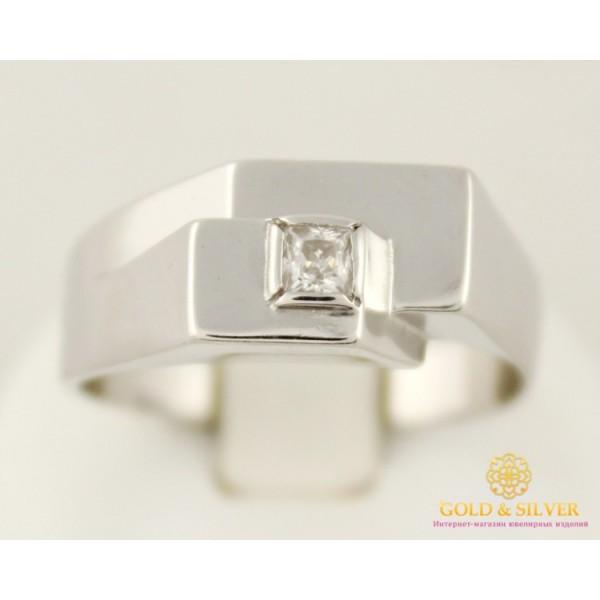 Серебряное кольцо 925 проба. Мужская серебряная печатка 380083с , Gold & Silver Gold & Silver, Украина