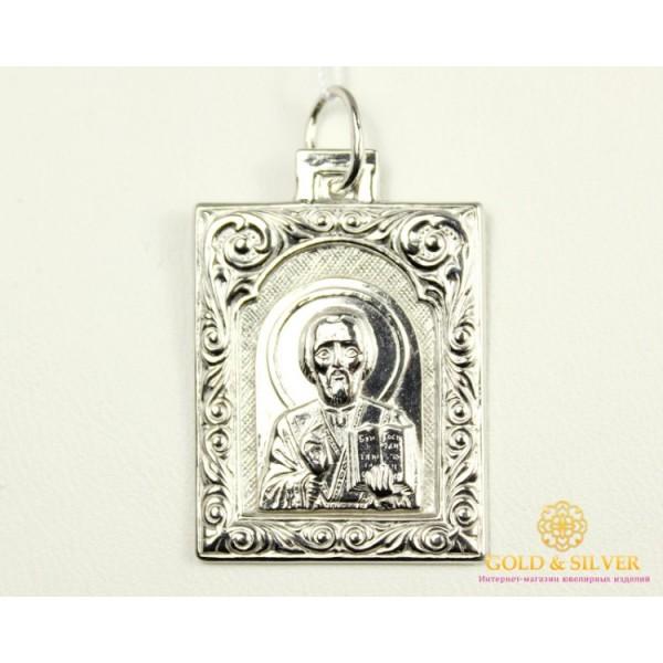 Серебряная Нательная Икона 120168с , Gold & Silver Gold & Silver, Украина