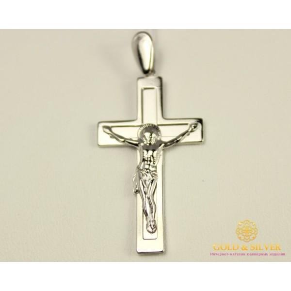 Серебряный Крест 925 проба. Крест православный. 210073с , Gold & Silver Gold & Silver, Украина