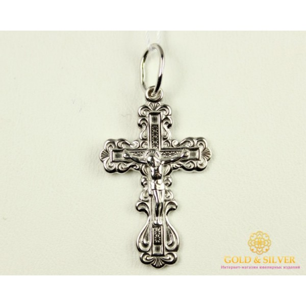 Серебряный Крест 222022с , Gold & Silver Gold & Silver, Украина