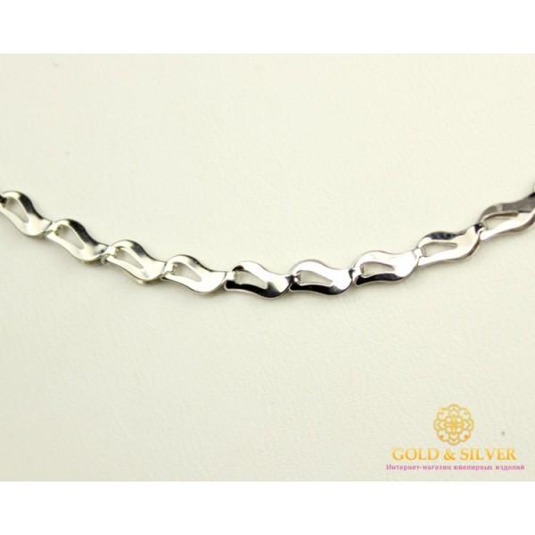 Серебряная Женская Цепь 800010с , Gold & Silver Gold & Silver, Украина