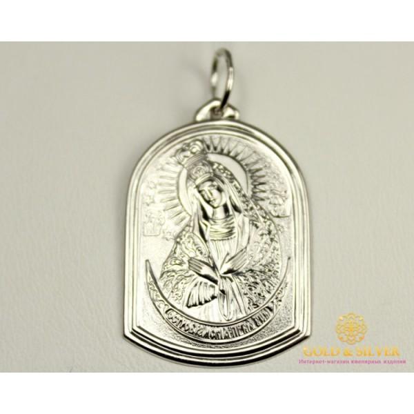 Серебряная Нательная Икона 100490с , Gold &amp Silver Gold & Silver, Украина