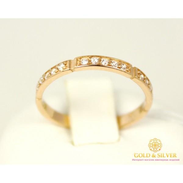 Золотое кольцо 585 проба. Женское Кольцо 320154 , Gold & Silver Gold & Silver, Украина