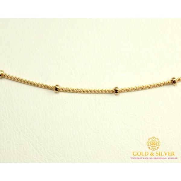 Золотая Цепь 585 проба. Цепочка с красного золота, плетение Сатурн Панцирь, 50 сантиметров 53101103041 , Gold & Silver Gold & Silver, Украина