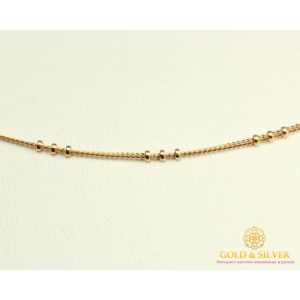 Золотая Цепь 585 проба. Цепочка с красного золота, плетение Сатурн Панцирь ( 3 шарика) 53301103041 , Gold & Silver Gold & Silver, Украина