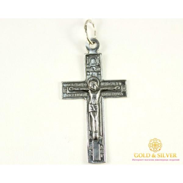 Серебряный Крест 925 проба. Крест Преображенский 3063 , Gold &amp Silver Gold & Silver, Украина