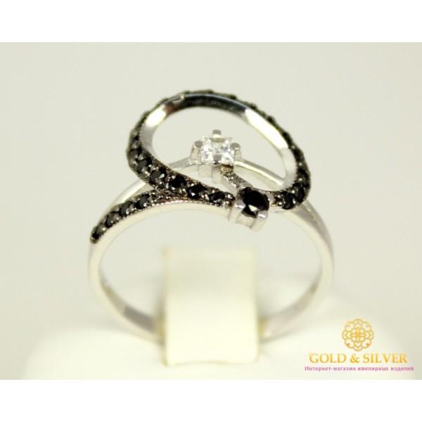 Золотое кольцо 585 проба. Женское Кольцо с белого золота, 2,5 грамма, 17,5 размер 320119 , Gold & Silver Gold & Silver, Украина