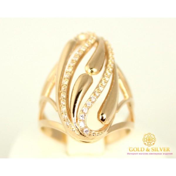 Золотое кольцо 585 проба. Женское Кольцо 17 размер. 5,09 грамма 380082 , Gold &amp Silver Gold & Silver, Украина