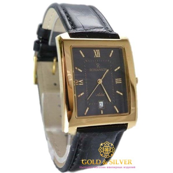 Мужские Часы ROMANSON TL1107XG BK (предыдущая модель) , Gold &amp Silver Gold & Silver, Украина