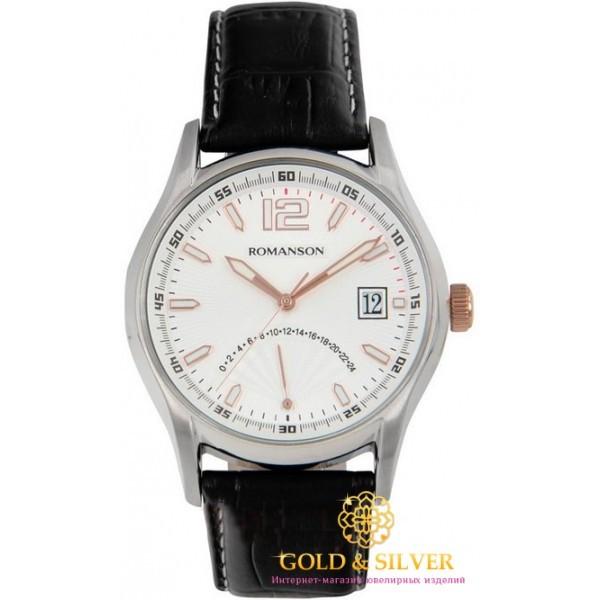 Мужские Часы Romanson TL9248MR2T WH , Gold &amp Silver Gold & Silver, Украина