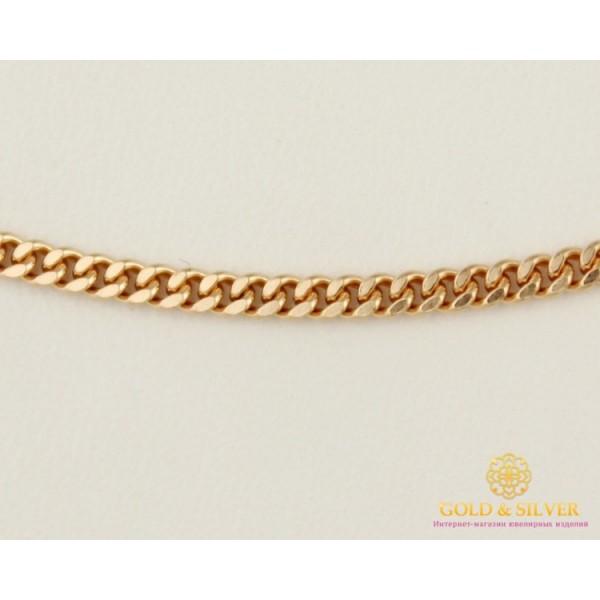 Золотая Цепь 585 проба. Цепочка с красного золота, плетение Панцирь 45 сантиметров 2,63 грамма 50101105041 , Gold & Silver Gold & Silver, Украина