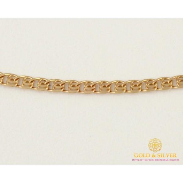 Золотая Цепь 585 проба. Женская золотая Цепочка Лав (Love), 45 сантиметров. 50123102541(45) , Gold & Silver Gold & Silver, Украина