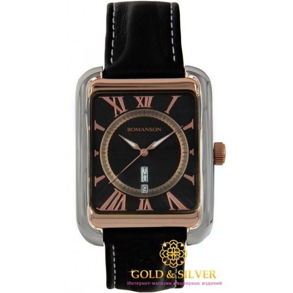 Мужские Часы Romanson TL0353MR2T BK , Gold &amp Silver Gold & Silver, Украина
