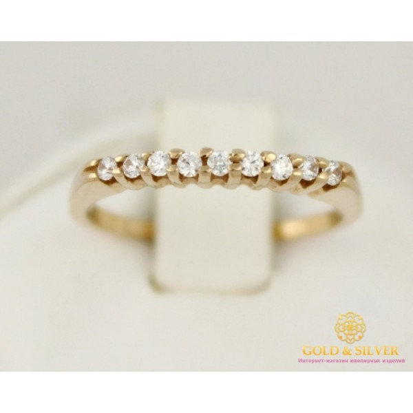 Золотое кольцо 585 проба. Женское Кольцо 1,84 грамма 16 размер кв237и , Gold &amp Silver Gold & Silver, Украина