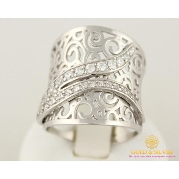 Серебряное кольцо 925 проба. Женское Кольцо 6,54 грамма, широкое. 330762с , Gold &amp Silver Gold & Silver, Украина