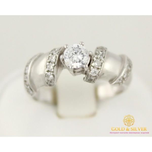 Серебряное кольцо 925 проба. Женское кольцо Пикассо 3,23 грамма 1483р , Gold & Silver Gold & Silver, Украина