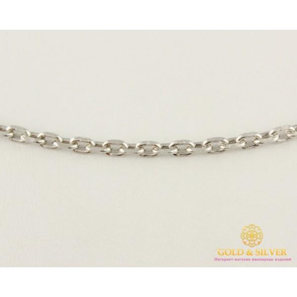 Серебряная цепь 925 проба. Серебряная якорная Цепь 9,2 грамм 55 сантиметров 5284р , Gold & Silver Gold & Silver, Украина