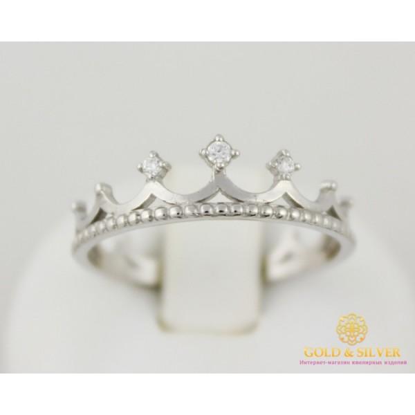 Серебряное кольцо 925 проба. Кольцо женское корона малая. 1349 , Gold & Silver Gold & Silver, Украина