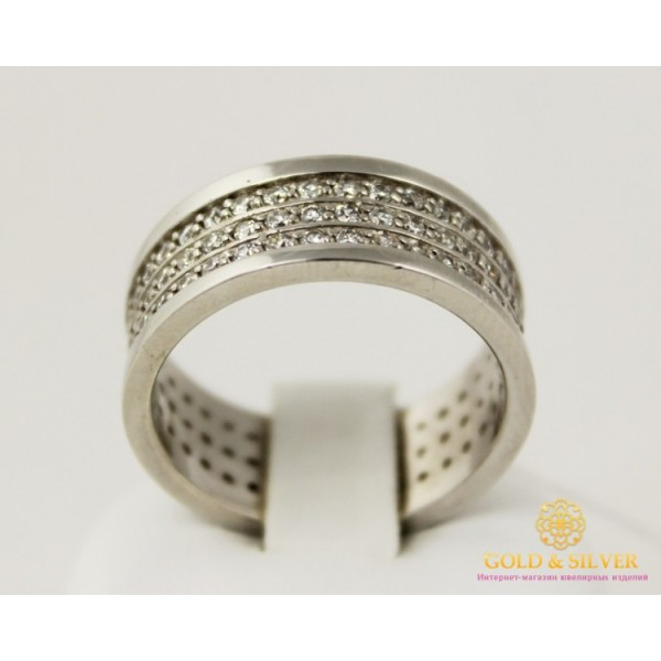 Серебряное Женское кольцо 925 проба. Кольцо серебряное 8,13 грамма 1122 , Gold & Silver Gold & Silver, Украина