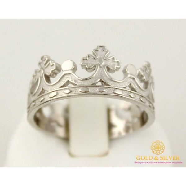 Серебряное Кольцо 925 проба. Кольцо Корона без камней 1886/1 , Gold &amp Silver Gold & Silver, Украина