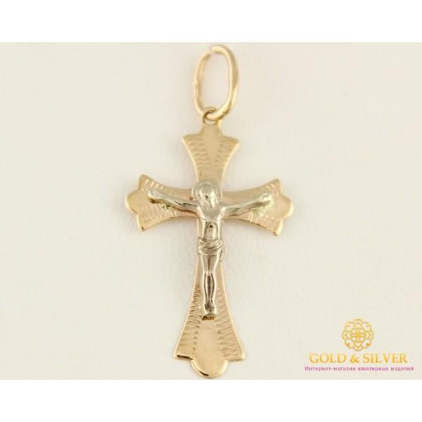 Золотой Крест красное и белое золото 34012 , Gold &amp Silver Gold & Silver, Украина