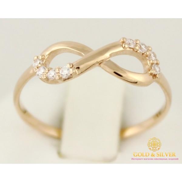 Золотое кольцо 585 проба. Женское кольцо Бесконечность. кв532и , Gold & Silver Gold & Silver, Украина
