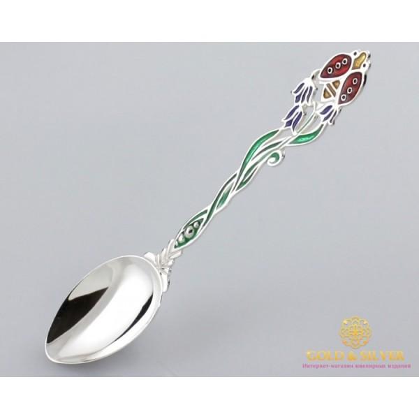 Серебряная ложка 925 проба. Детская ложка божья коровка.6002 , Gold &amp Silver Gold & Silver, Украина