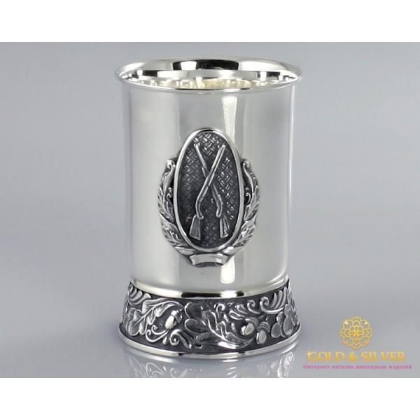 Серебряная Стопка 925 проба. Стопка охотнику. 75010 , Gold &amp Silver Gold & Silver, Украина