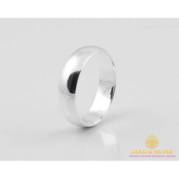 Серебряное кольцо 925 проба. Обручальное кольцо 5 мм. 1710 , Gold & Silver Gold & Silver, Украина