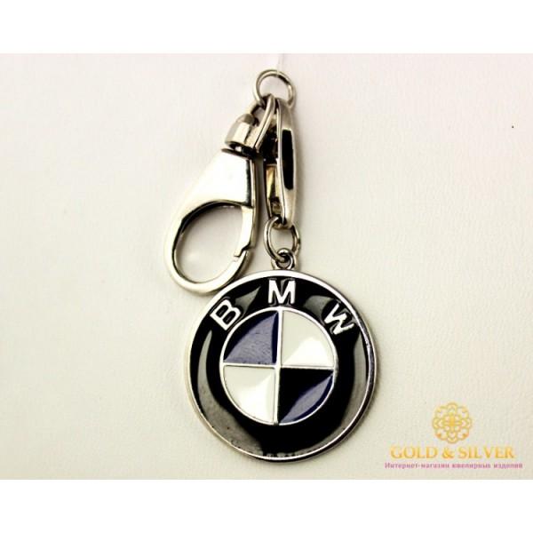 Серебряный Брелок 925 проба. Брелок Автомобильный BMW 8127 , Gold &amp Silver Gold & Silver, Украина