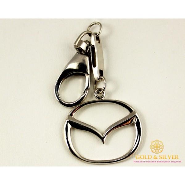 Серебряный Брелок 925 проба. Брелок автомобильный MAZDA 8119 , Gold & Silver Gold & Silver, Украина