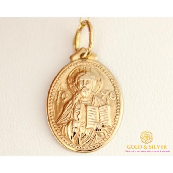 Золотая Нательная Икона 585 проба. Подвес с красного золота. 100499 , Gold & Silver Gold & Silver, Украина