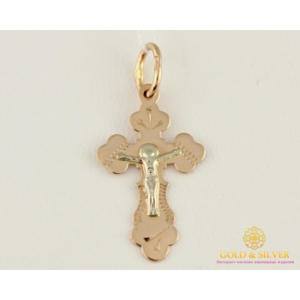 Золотой Кретик красное и белое золото 230130 , Gold & Silver Gold & Silver, Украина