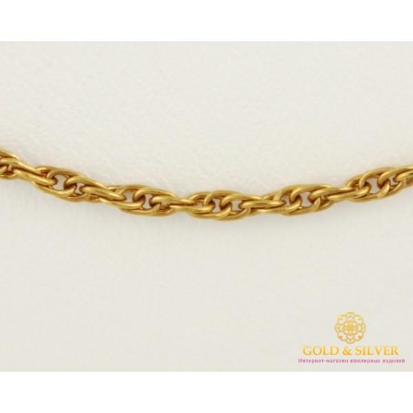 Золотая Цепь 585 проба. Цепочка с красного золота, плетение Корда, 55 сантиметров. 838495 , Gold & Silver Gold & Silver, Украина