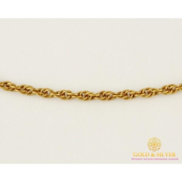 Золотая Цепь 585 проба. Цепочка с красного золота, плетение Корда,  3,15 грамма, 45 сантиметров 8181100 , Gold & Silver Gold & Silver, Украина