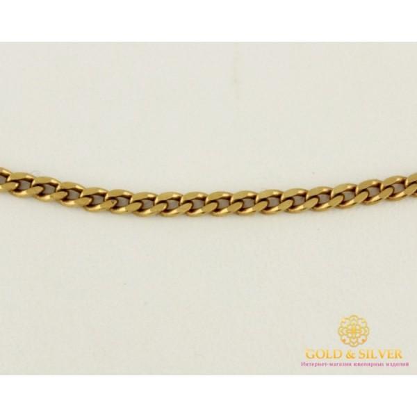 Золотая Цепь 585 проба. Цепь с красного золота, плетение Панцирь, 45 сантиметров. 8185630 , Gold &amp Silver Gold & Silver, Украина