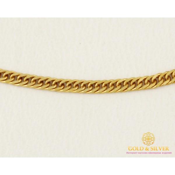 Золотая Цепь 585 проба. Женская цепочка с красного золота, плетение панцирь плотный, 40 сантиметров. 8685700 , Gold &amp Silver Gold & Silver, Украина