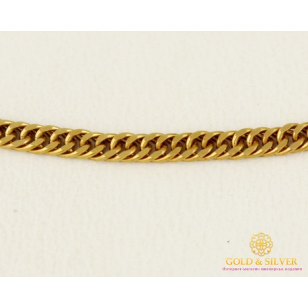 Золотая Цепь 585 проба. Цепочка с красного золота, плетение Ромб плотный, 40 сантиметров 8685710 , Gold & Silver Gold & Silver, Украина